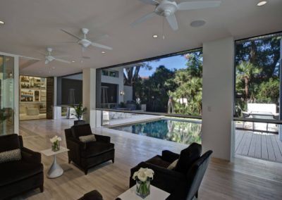 Executive Blinds Open to join the Pool & Entertaining Area